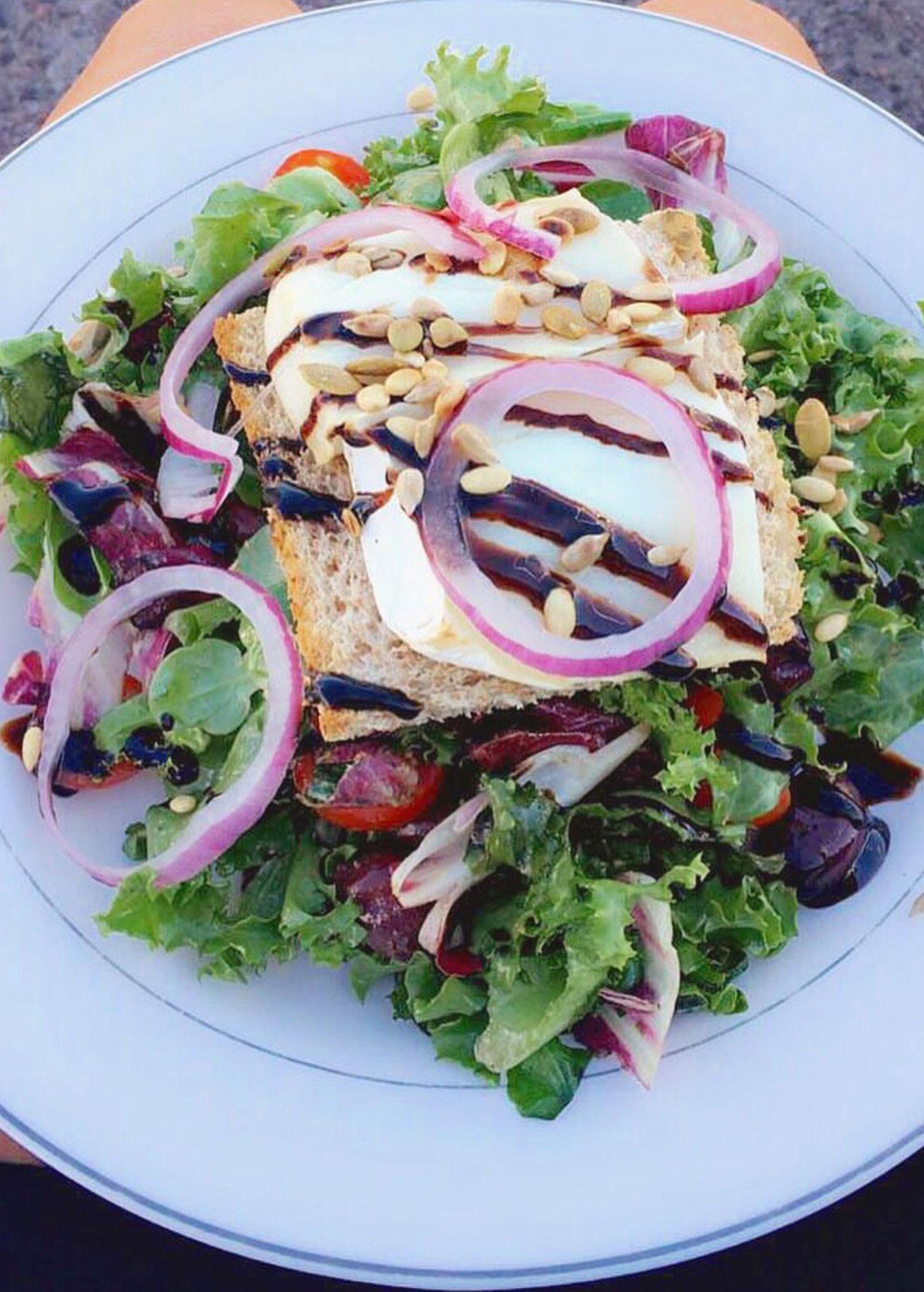 Bryggan-Salad